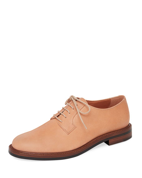 Mansur Gavriel Classic Leather Lace-Up Oxford