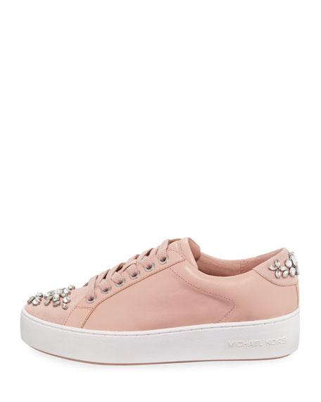 Poppy Crystal-Embellished Sneaker