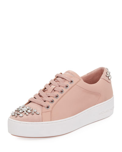 Poppy Crystal-Embellished Sneaker