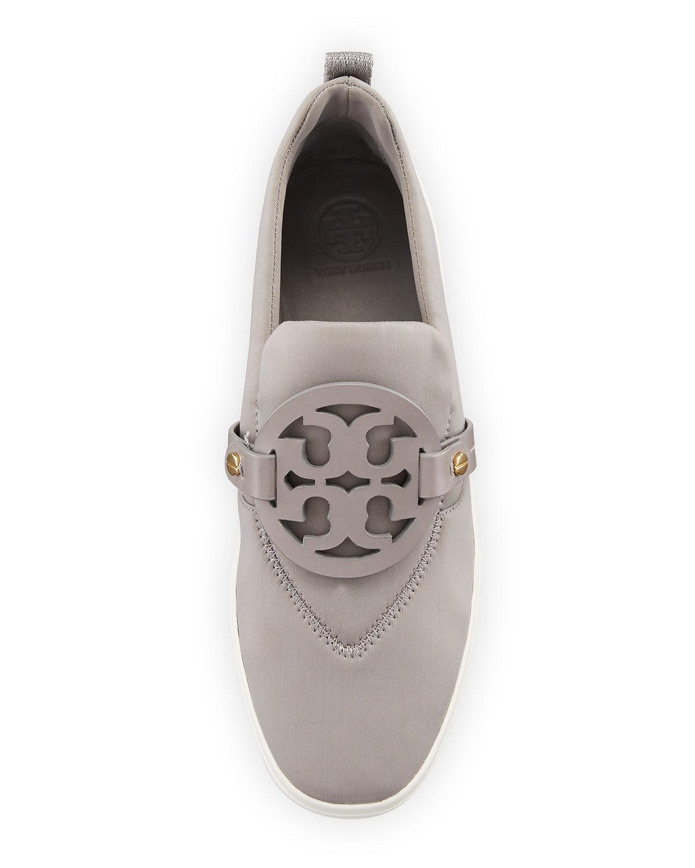 eddfbd2983e3ae Tory Burch Miller Neoprene Medallion Slip-On Sneaker