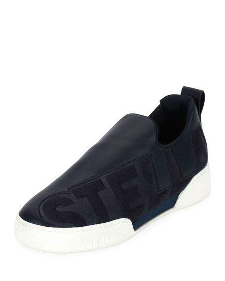 Stella McCartney Stella-Print Slip-On Sneaker, Wild Blue