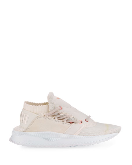 Tsugi Shinsei Knit Trainer, White