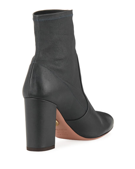 So Me Napa Leather 85mm Bootie