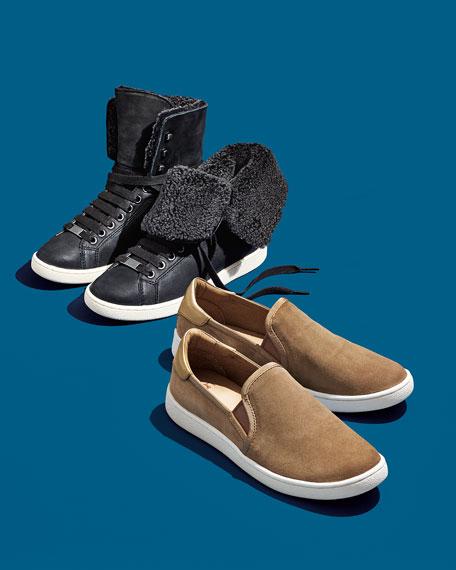 Starlyn Shearling High-Top Sneaker