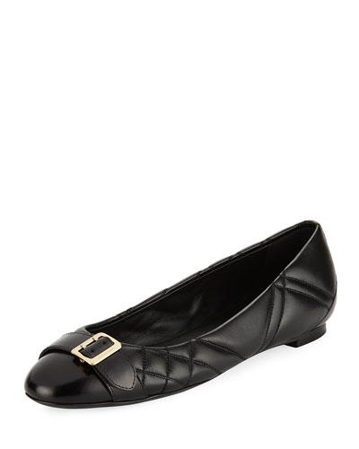 Avon Quilted Ballerina Flat