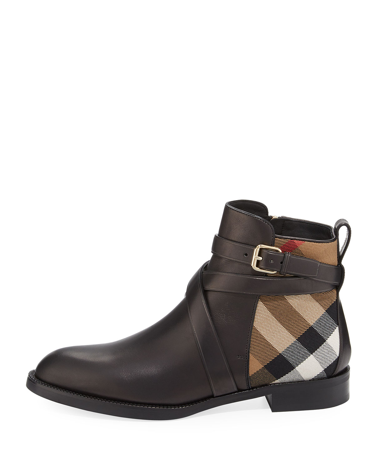 Vaughan check boots Burberry Free Shipping Shop Offer Clearance 2018 Newest Top Quality Cheap Price pG4a3Z