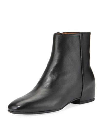 Ulyssa Leather Ankle Boots