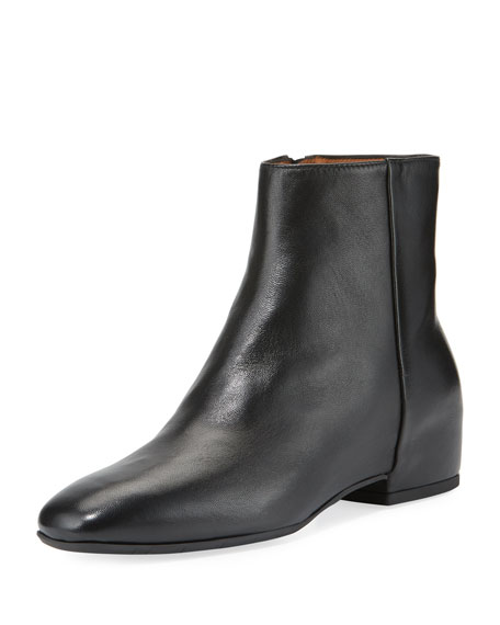 Aquatalia Ulyssa Leather Ankle Boot