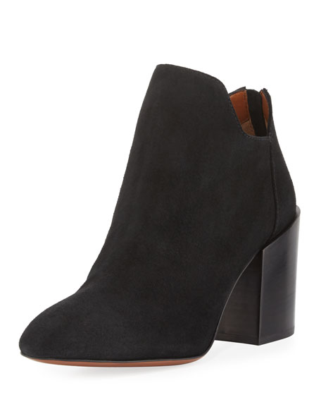 Francesca Suede Ankle Boot
