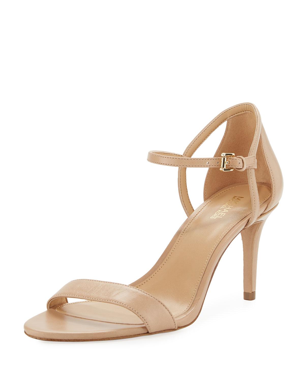 e37c684a1820d Michael Kors Simone Mid Heel Minima Sandal Neiman Marcus