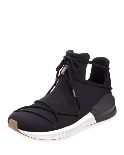 Fierce Rope Stretch Sneaker, Olive