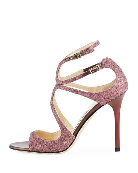 Lang Glitter Cutout 100mm Sandal