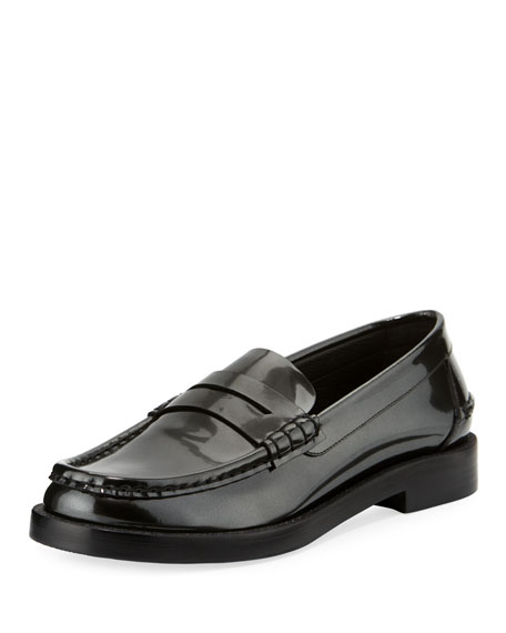 Pedro Garcia Queron Patent Slip-On Loafer