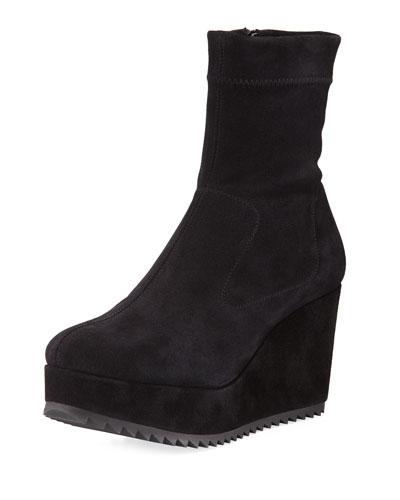 Urika Wedge Platform Ankle Bootie