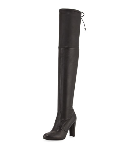 Highland Stretch-Napa Over-the-Knee Boot