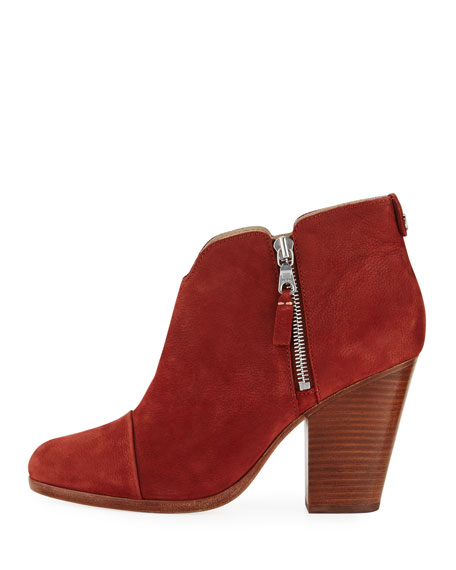 Margot Nubuck Leather Ankle Boot