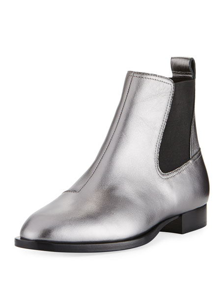 Mason Metallic Flat Boot