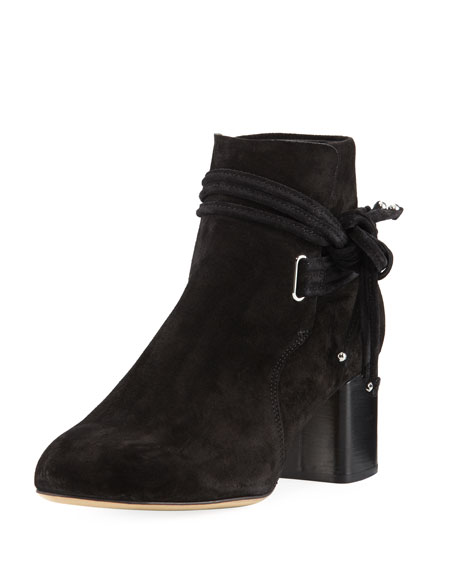 buy cheap new arrival Rag & Bone Studded Round-Toe Ankle Boots clearance in China shipping discount authentic e6gDy8