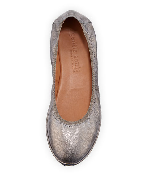 Natalie Stretch-Demi Wedge Ballerina Shoe