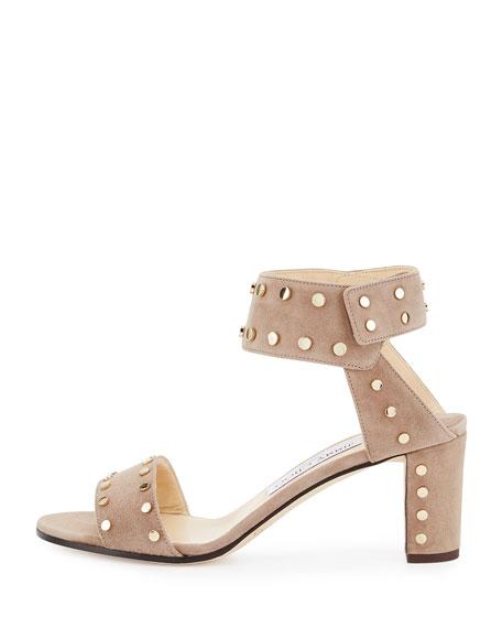 Veto Studded Suede City Sandal