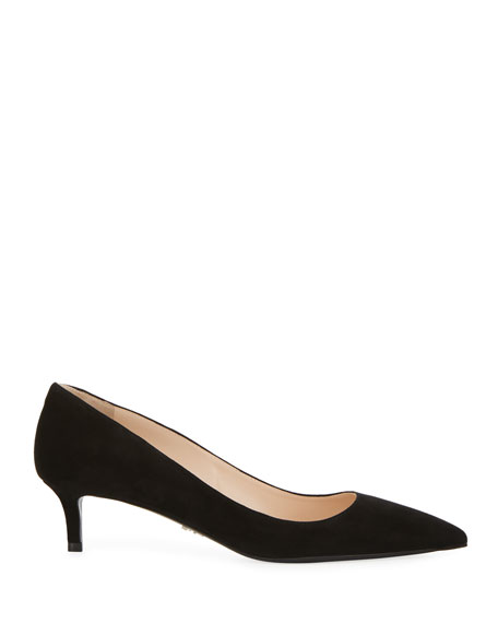 Suede Pointed-Toe 45mm Pumps