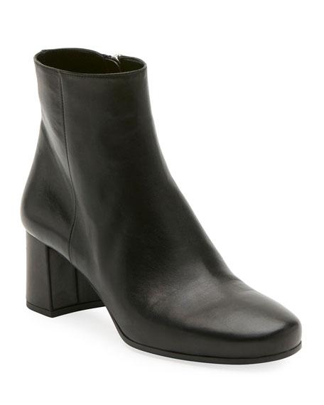 Napa 55mm Block-Heel Boot, Black