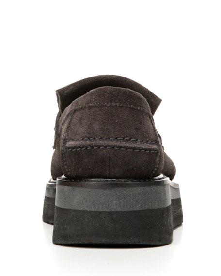 Dorsey Creeper Platform Loafer, Tarmac