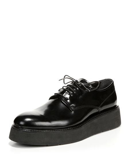 Vince Drystan Leather Platform Oxfords EcqgspOb