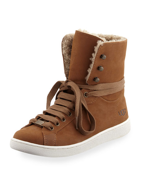 Starlyn Shearling High-Top Sneaker