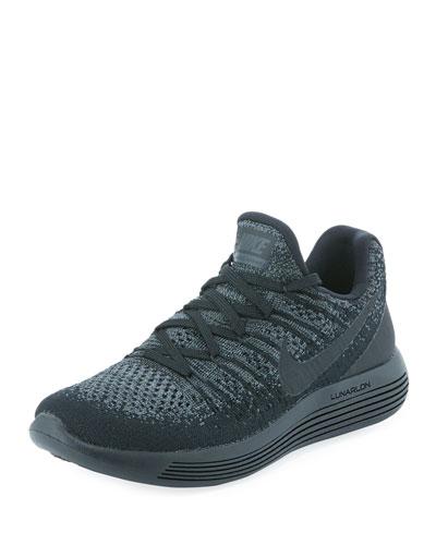 LunarEpic Low Flyknit 2 Sneaker, Black