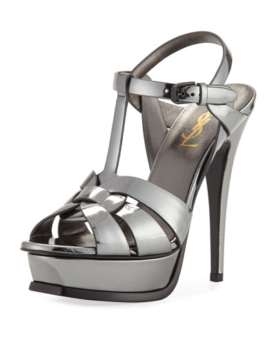 Tribute 135mm Mirrored Platform Sandal