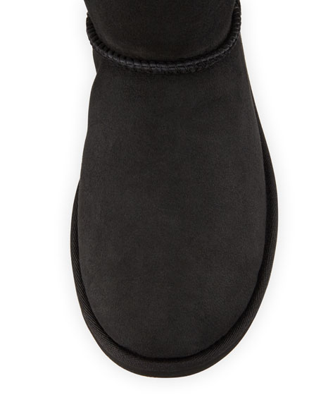 Mini Bailey Bling Low Boot, Black