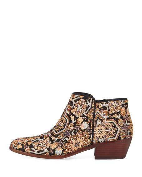 Petty Low Tapestry Ankle Bootie
