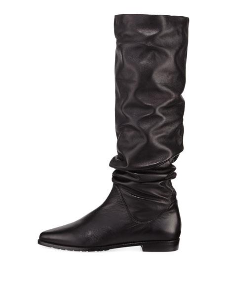 Flatscrunchy Nappa Boot