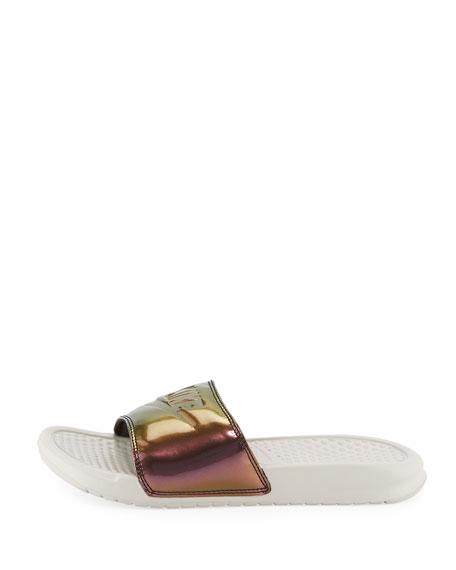 Benassi Just Do It Flat Slide Sandal