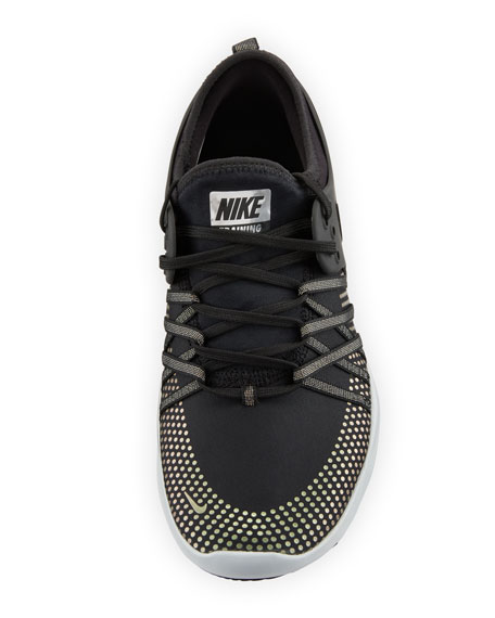 Free Metallic Lace-Up Trainer Sneakers