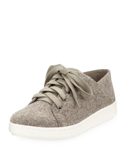 Clifton Felt Wool Lace-Up Low-Top Sneaker