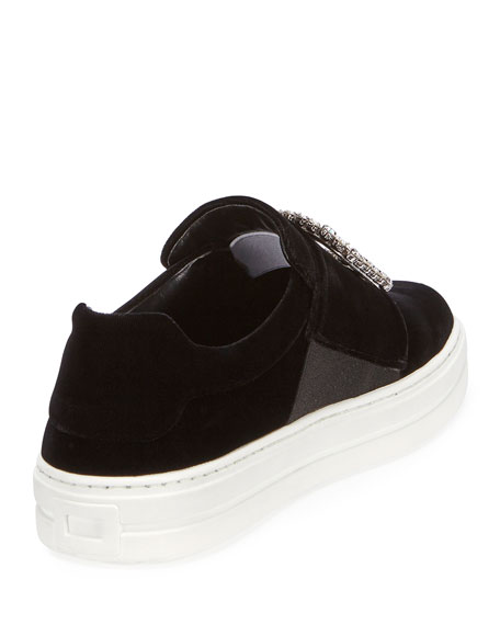Sneaky Viv Strass Buckle Sneakers