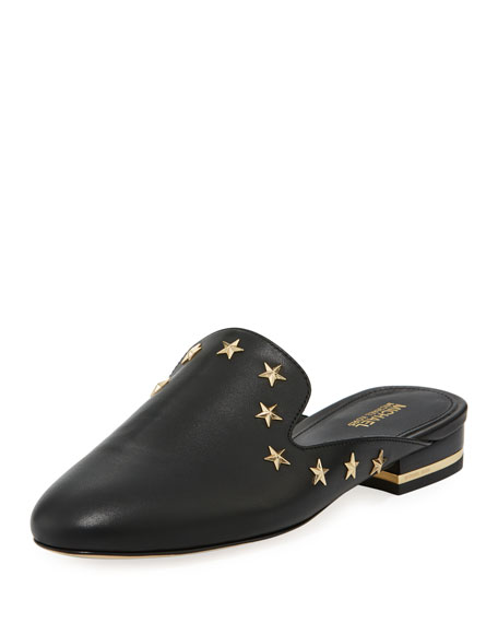 Natasha Star Flat Mule Loafer