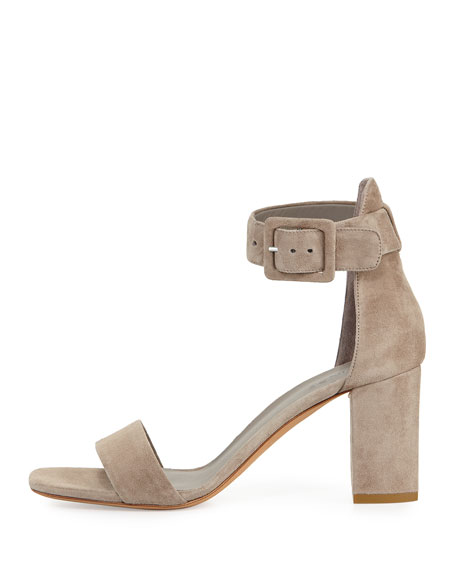 2015 sale online Vince Suede Ankle-Strap Sandals buy cheap pay with visa cheap sale recommend cheap sale affordable AIUunV37