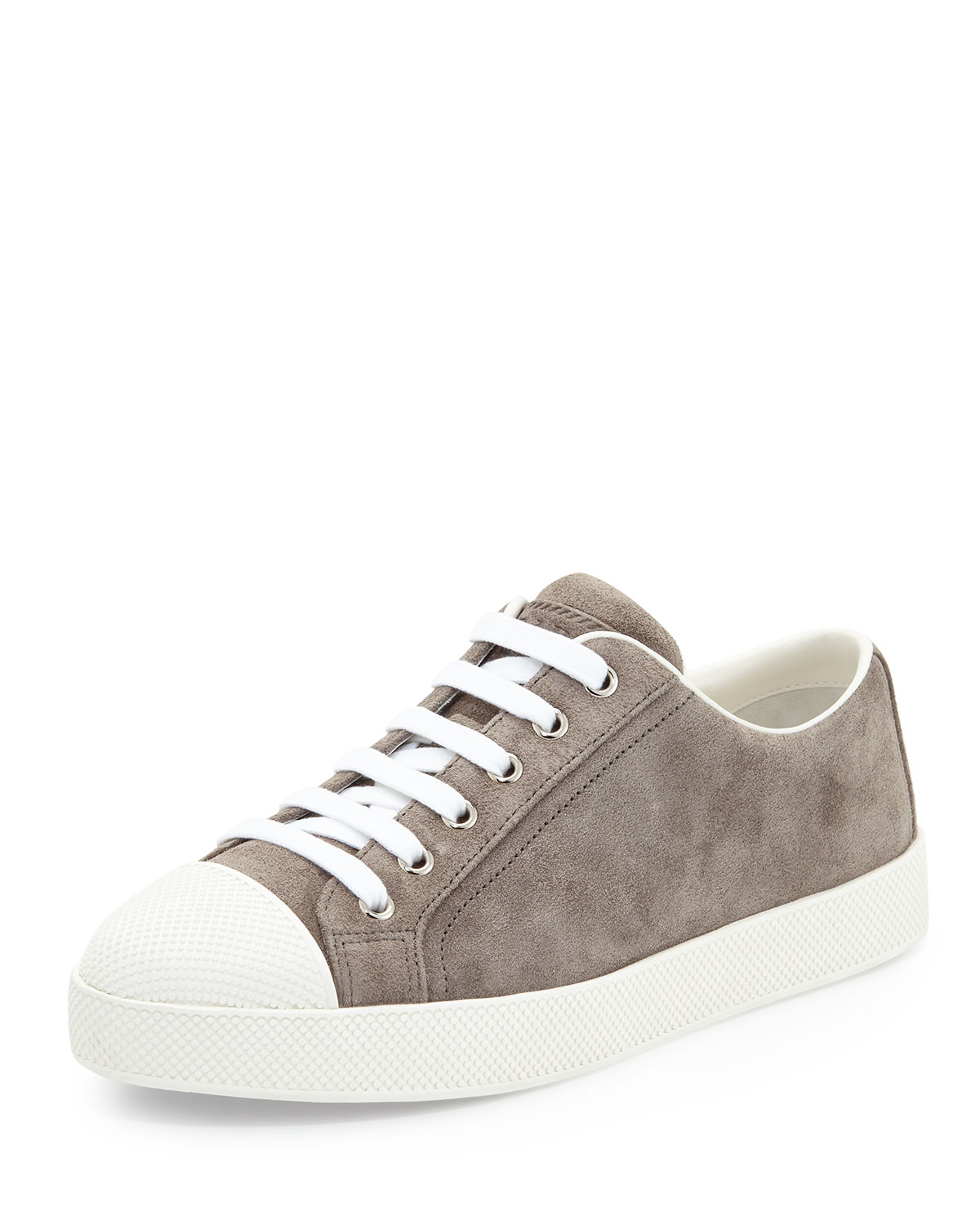 Ping Pong Suede Cap Toe Low Top Sneaker