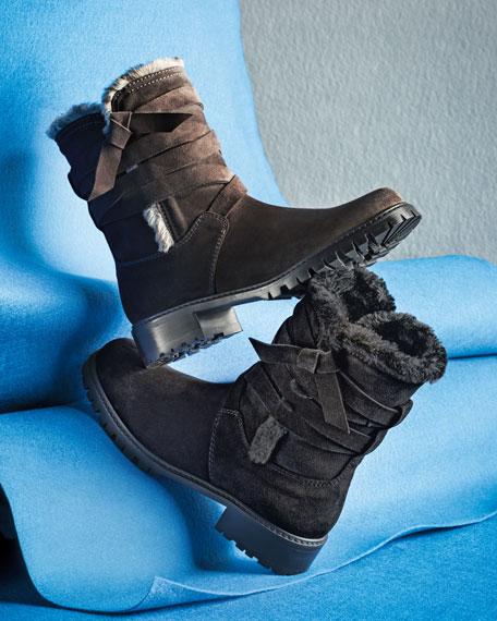 Snowfield Faux-Fur Velour Boot