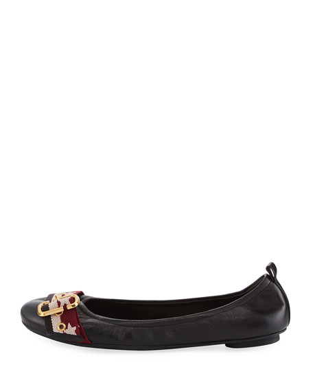 Dolly Buckle Ballerina Flat