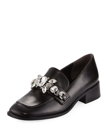 Marc Jacobs Tilde Embellished Loafer