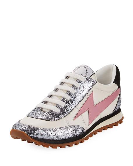 Marc Jacobs Astor Lightning Bolt Jogger Sneaker