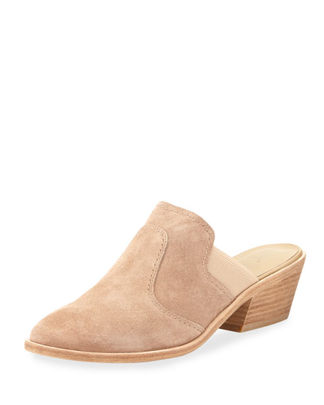 Aideen Suede 50mm Slide Mule