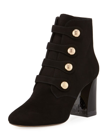 Tory Burch Marisa Suede Button Bootie
