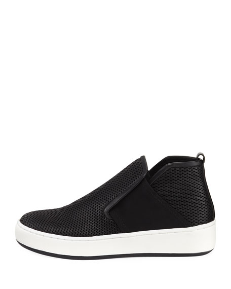 Carole Perforated Bootie Sneaker