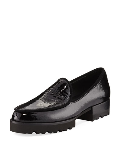 Elen 2 Patent Lugged Loafer