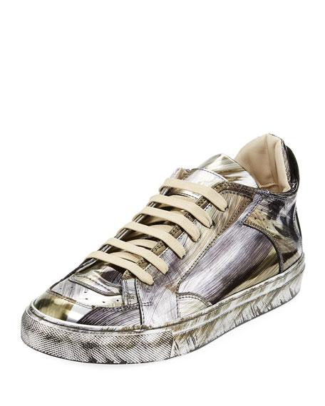 MM6 Maison Martin Margiela Mirrored Brush Low-Top Sneaker